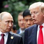 Trump y Putin Twitter Photo