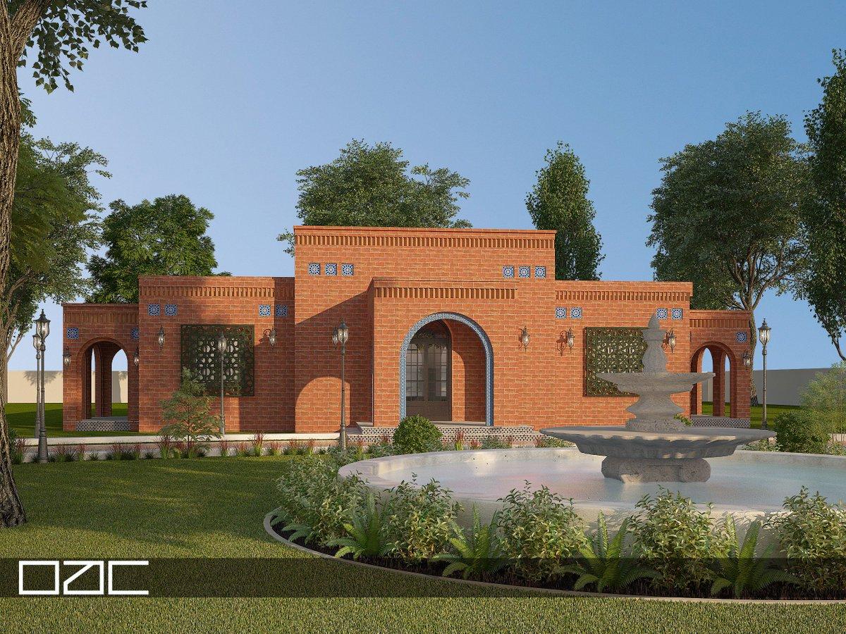 A vernacular design of a Farmhouse by