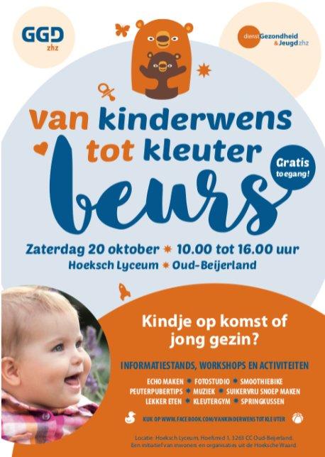Babypluis op van kinderwens tot kleuter beurs Oud-beijerland
