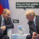 Trump trifft Putin und umgekehrt. Wünsche viel Erfolg und gute Gespräche.