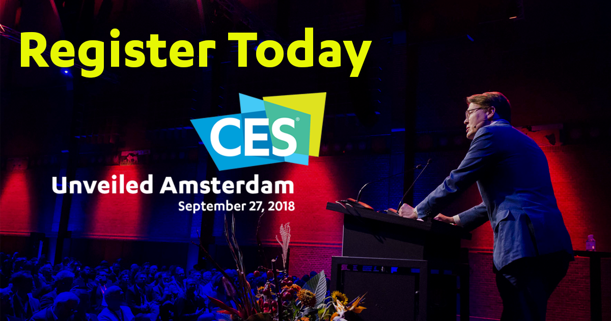 Get your product seen by leading tech journalists at #CESUnveiledAmsterdam. Reserve your space https://t.co/jtK1eVQ78W