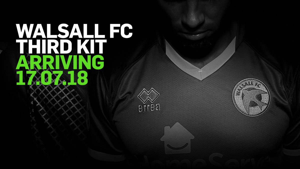 Walsall's 2018/19 Third Kit to Be Unleashed on Tuesday Morning