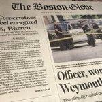 Conservatieven in #Amerika voelen energie ten opzichte van Elizabeth Warren, de Democratische senator 'they love to hate'. Dat meldt de Boston Globe. Warren overweegt een gooi te doen naar het presidentschap