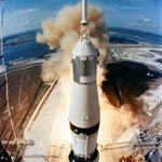 Image for the Tweet beginning: Today in 1969, the 363-feet