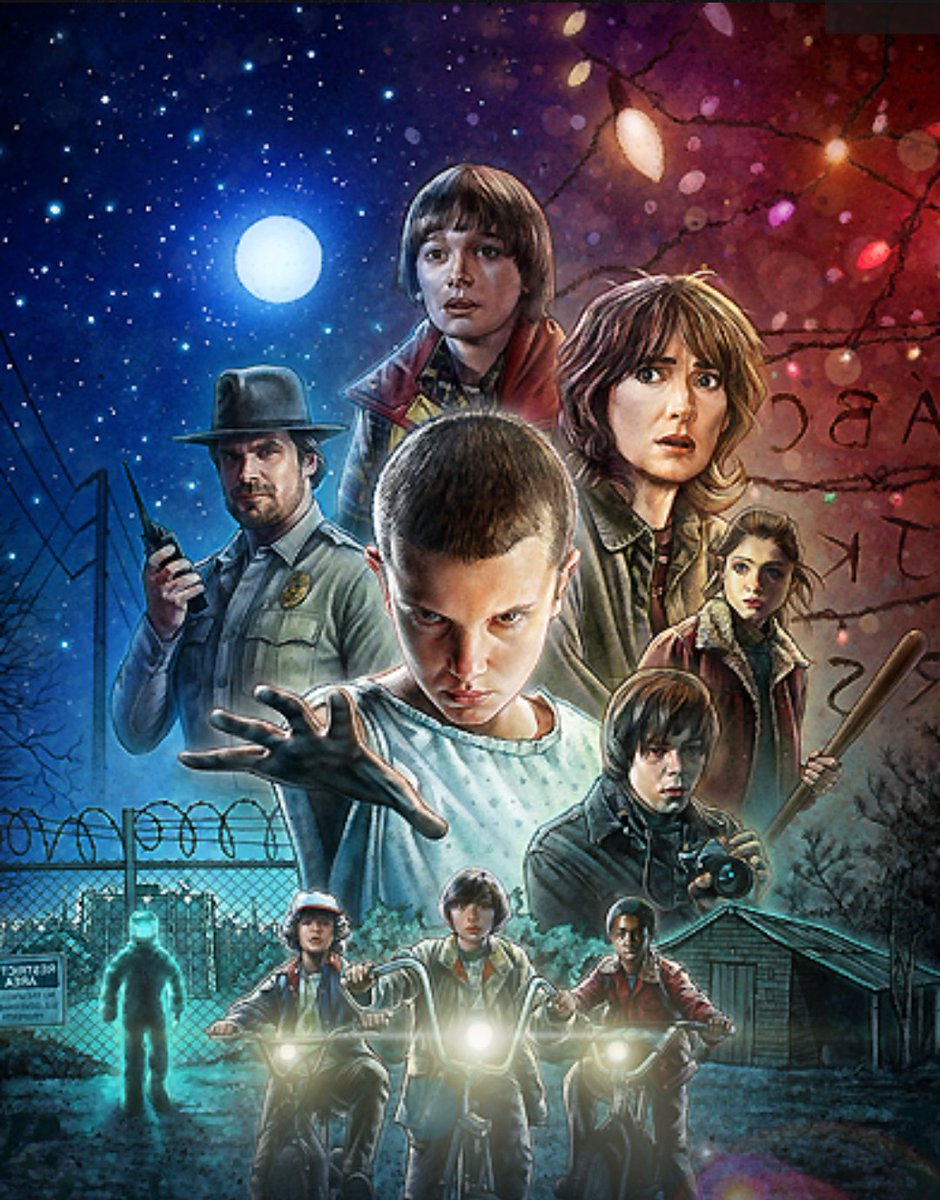 Today, 2 years ago, the first season of Stranger Things was released! <br>http://pic.twitter.com/9WAesrADId