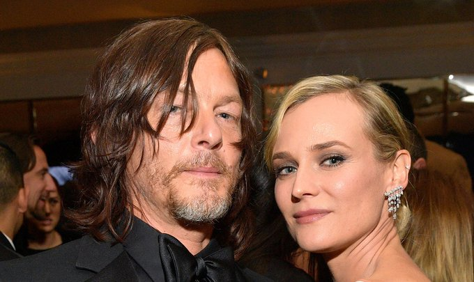 Norman Reedus\ Happy Birthday Message to Diane Kruger Features a Cute Selfie!
