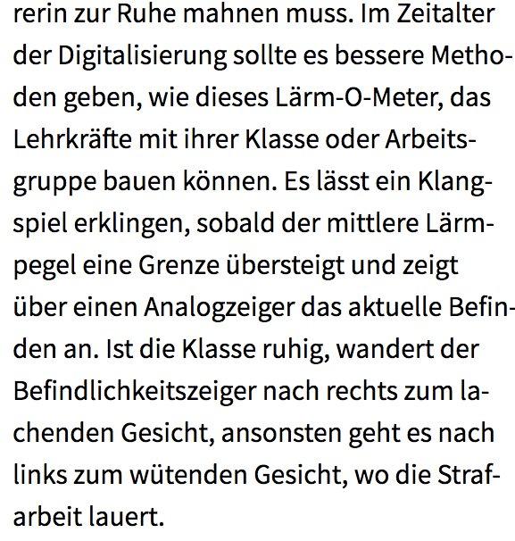 test Twitter Media - .. endlich mal ein überzeugendes Beispiel für die 'Digitalisierung im Klassenzimmer' - das Lärm-o-meter ;) @doit https://t.co/CKMn8r9Om5
