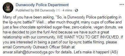 DunwoodyPolice photo