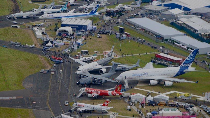 У Британії відкрився авіасалон