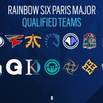 Image for the Tweet beginning: The participant list of #SixMajorParis