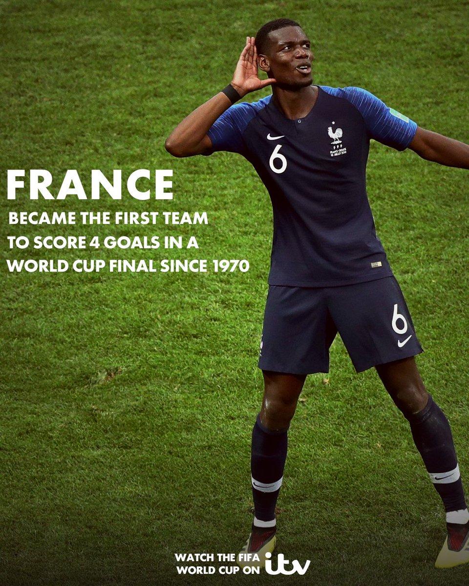 What a World Cup Final! 🙌  #WorldCupFinal #FRA #FRACRO