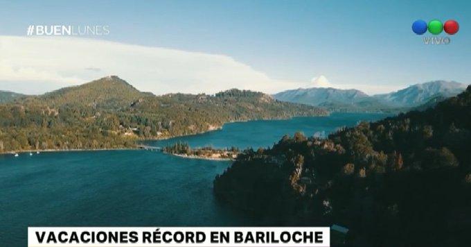 #BuenLunes Bariloche a pleno: recibirá 120 vuelos en los próximos cuatro días ❄️🏂☃️ Foto