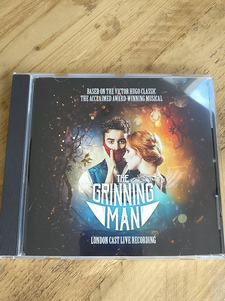 We're so happy we can share the soundtrack with you all! Pleased to hear there are lots of #grinning people today 😆🤡 #WatchMeSmile #grinningman #WestEndCast #WestEnd #WestEndSoundtrack
