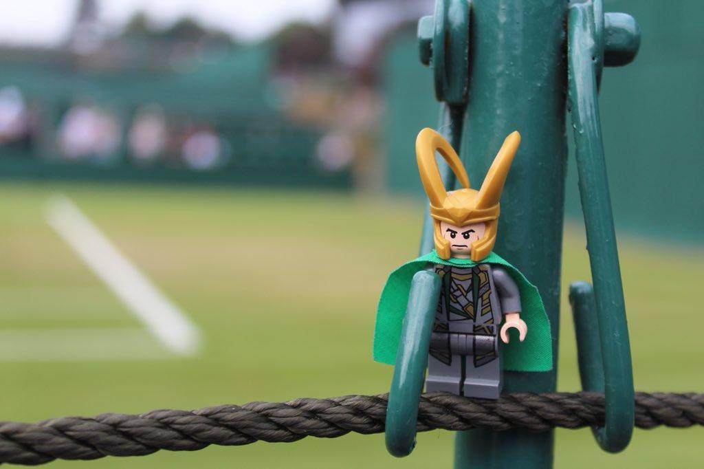 Lego Loki's photo on #Wimbledon