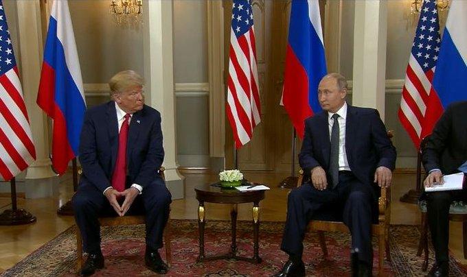 В Кремле говорят, что Путин и Трамп уделят особое внимание Украине Фото