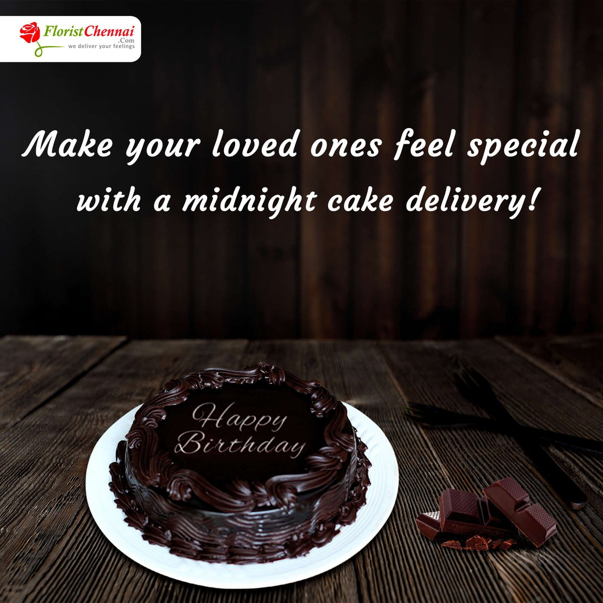 Your Dear Ones Birthday Ampgs 7v4a Chennai Surprise With A Cake Delivered At Midnight Visit Us 7v4X