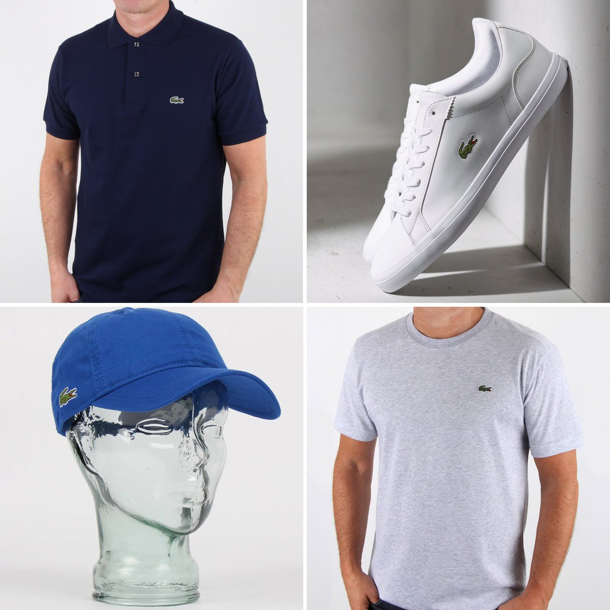 a64d9daad8d899 ... cap, all time classic leather trainers and logo tees. Shop the full  range of Lacoste here: http://ow.ly/Vsdh30kTTAL #lacoste  pic.twitter.com/gcJpaXuyEi