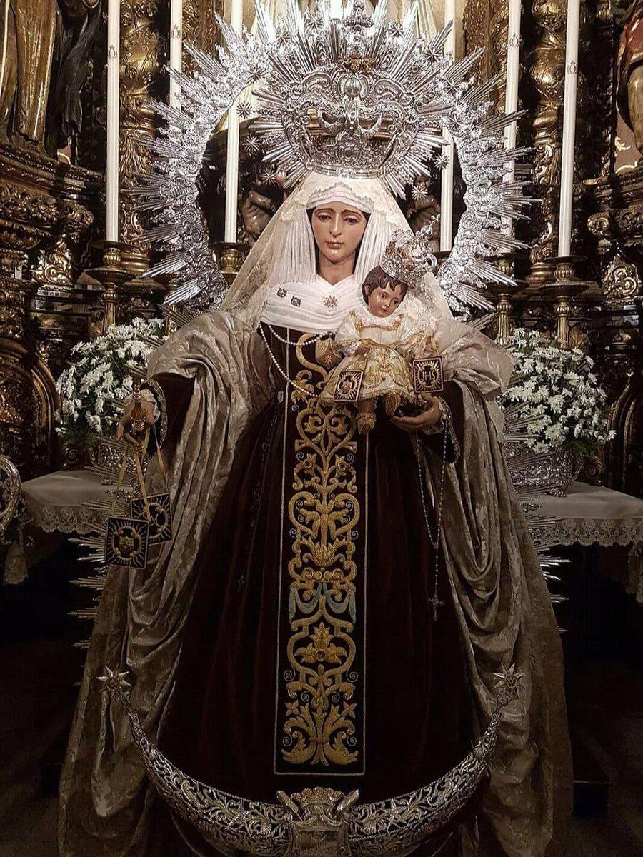 Bienaventurada Virgen Maria del Monte Carmelo. Te suplicamos, Señor, que la poderosa intercesión de la Virgen María, en su advocación del monte Carmelo, nos ayude y nos haga llegar hasta Cristo, monte de salvación. 📷Hdad Ntra. Sra. Carmen del Puente.