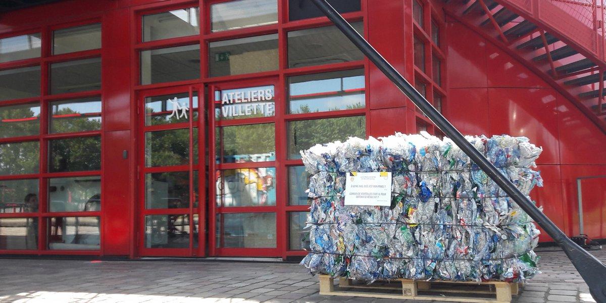 @Paris accueille le @FabCityParis ! Venez découvrir notre exposition sur le recyclage du plastique à @LaVillette jusqu'au 22 juillet. #Fabcitysummit #recyclage #plastique #exposition  - FestivalFocus