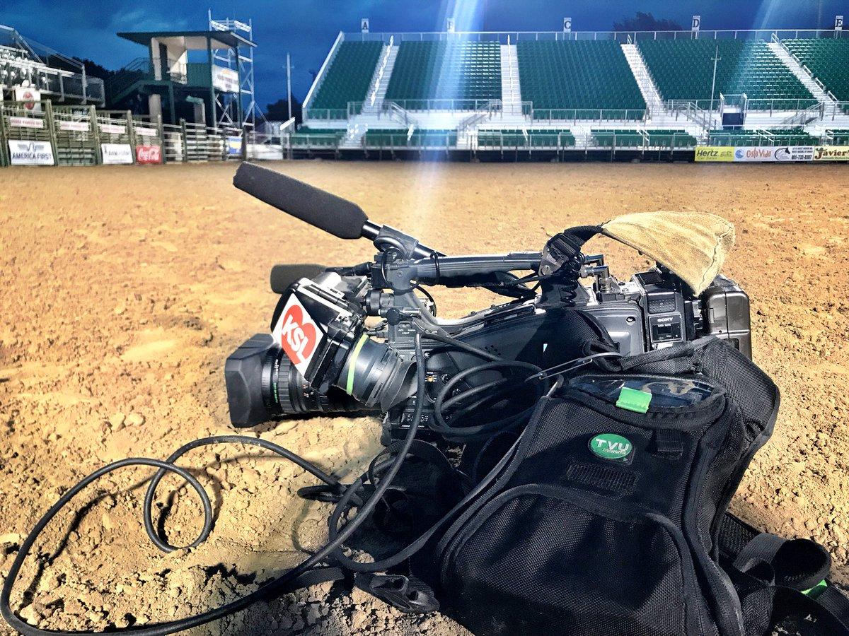 This morning we are @OgdenPioneerDay in #Ogden on @KSL5TV #KSLAM <br>http://pic.twitter.com/1EI2r8C2lk &ndash; à Ogden Rodeo Grounds