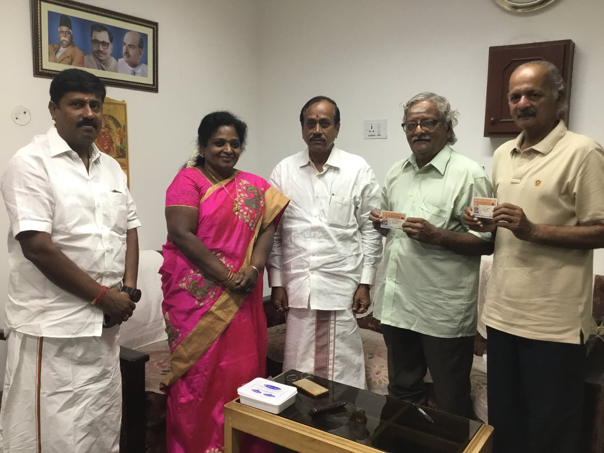 Gopu and Babu join BJP!