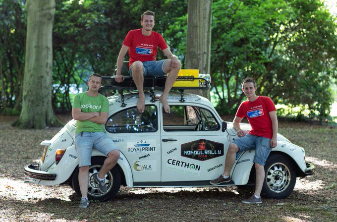 Team Cousins Crossing Countries naar Mongolië voor goede doel https://t.co/CJYZBWraNr https://t.co/3RhoUZLaiO