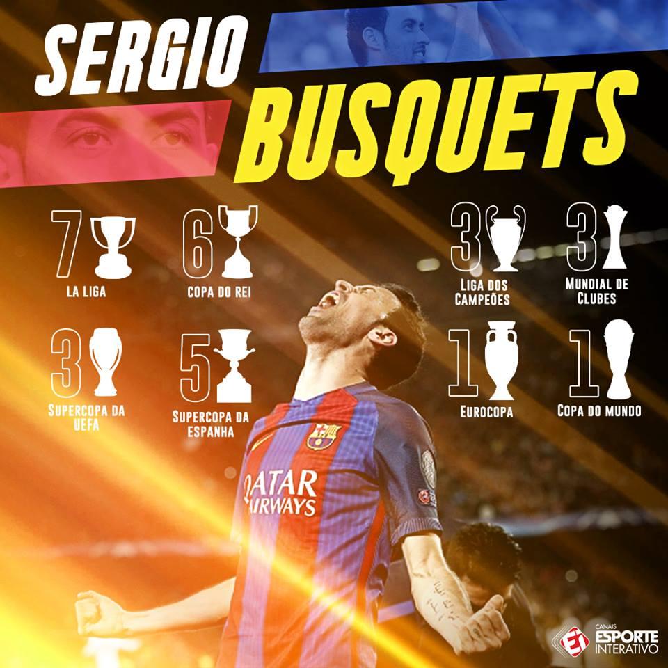 Cão de guarda do @FCBarcelona e da Espanha, o volante Sergio Busquets completa 30 anos nesta segunda! Feliz aniversário, monstro!