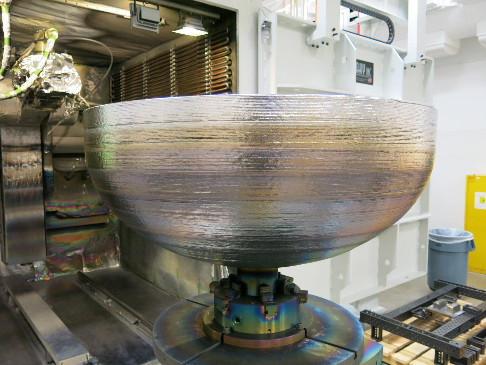 Lockheed Martin Is 3D-Printing Giant Titanium Space Parts https://t.co/mrKHqkFzWA https://t.co/bi8Xrdllo2