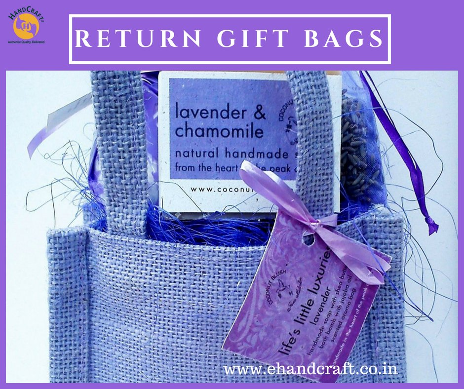 Handcraft On Twitter These Eco Friendly Jute Return Gift Bags From