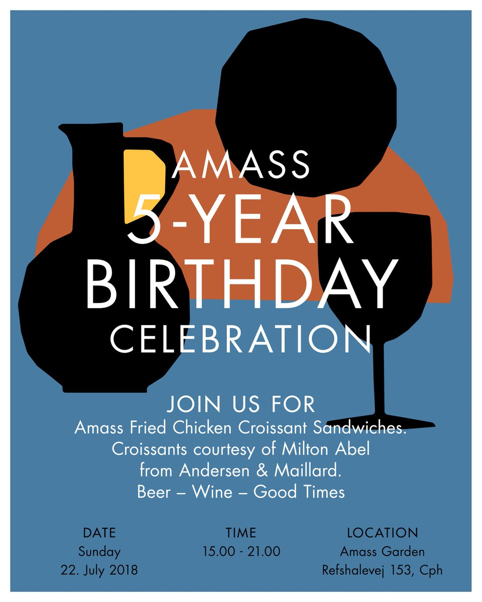 Amass On Twitter Tomorrow Is Our 5 Year Anniversary And We Re
