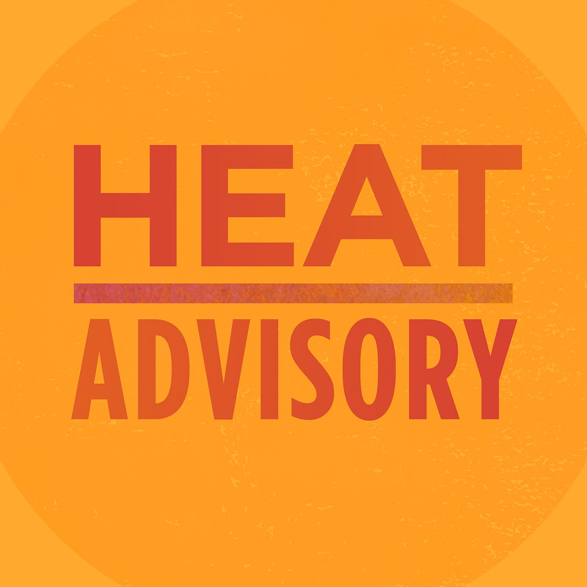 A heat advisory is in effect as of 12 PM today through 6 PM tomorrow.  Stay cool and indoors if possible. Stay hydrated and check in on your neighbors, particularly seniors and anyone with a health condition.