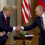 Image for the Tweet beginning: Trump and Putin summit underway