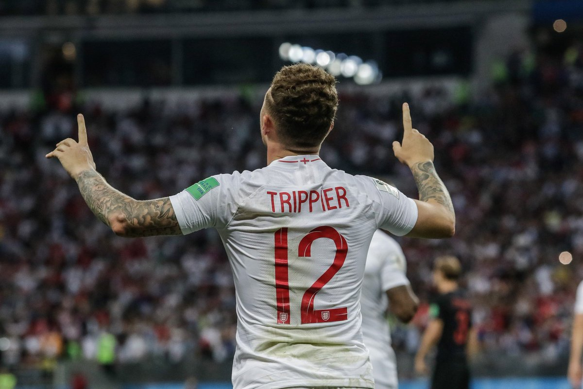 Kieran Trippier&#39;s 2018 #WorldCup :   • Most crosses (48) • Most chances created (24) • Most tackles won (15) by an England player • Joint-most chances created in a single game (7) • Only player to score a free-kick in the knockout stages  Underrated <br>http://pic.twitter.com/1UpVPwk97J