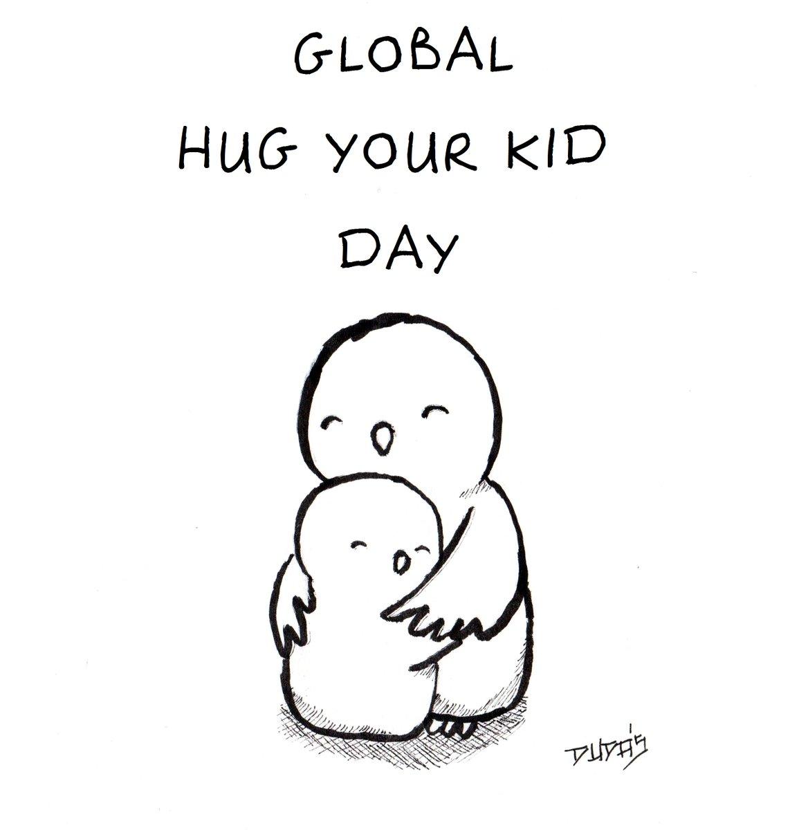 e3c9fb91c0ec Global hug your kid day animal bird blackandwhite child children cute  drawing jpg 1155x1200 Child cute