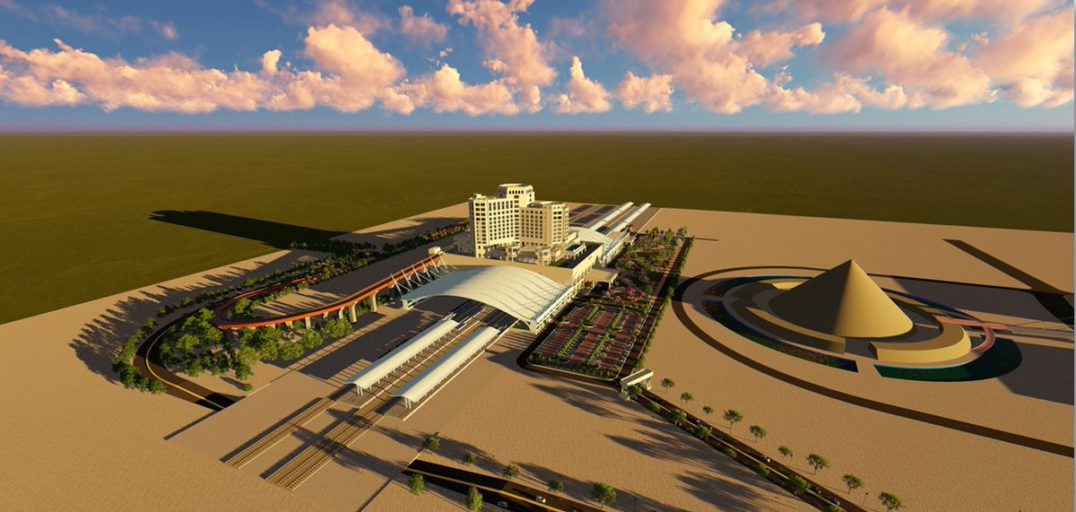 In pictures: Iconic new railway station of Gandhinagar to be ready by December 31st this year