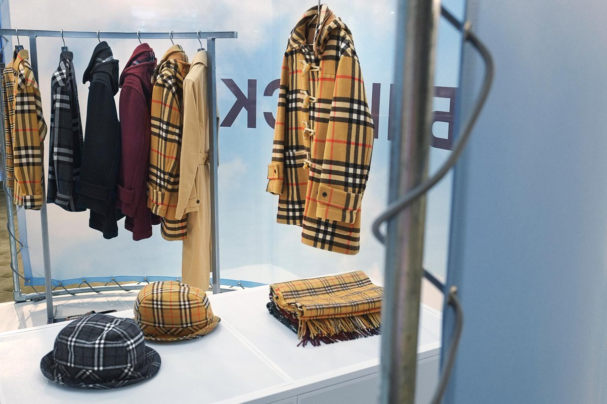 Visit our second drop from #GoshaRubchinskiyXBurberry in-store, celebrating our outerwear icons and the @Burberry check. Explore the capsule for a limited time in selected stores https://t.co/3HlGWse5ft