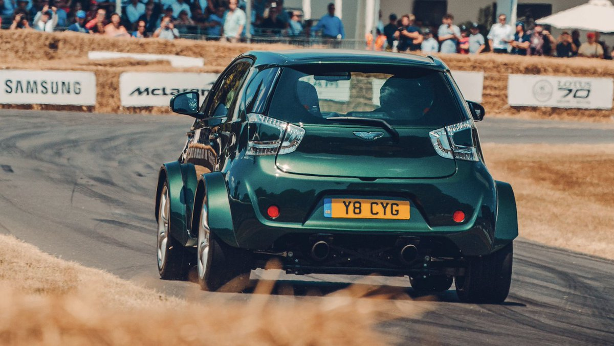 A V8 In Small Car Equals Hiness Aston Martin Cygnet Review 430bhp City