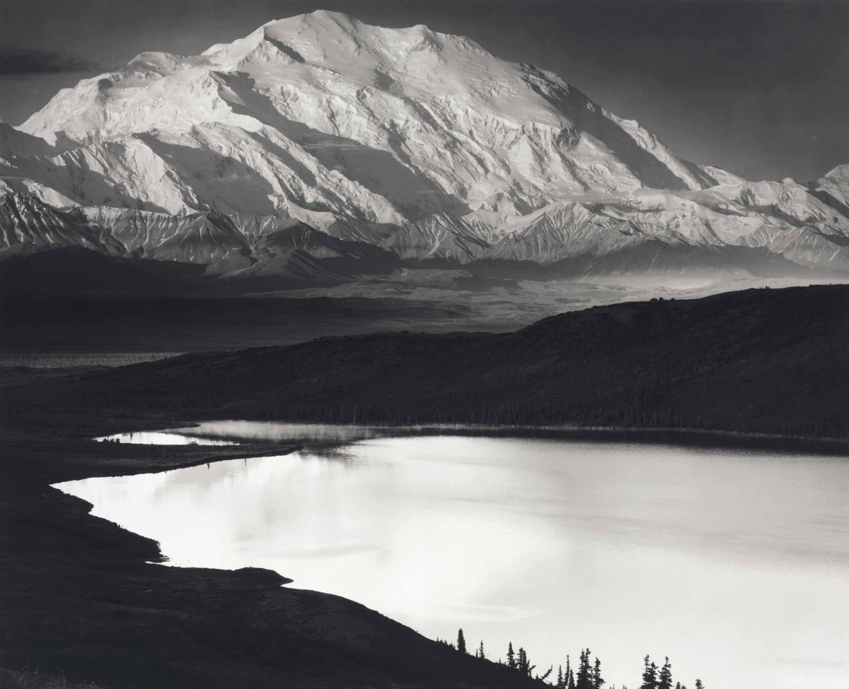 1948 print of iconic Denali photo by Ansel Adams is up for auction by Christie's https://t.co/gN7vHm3kSM