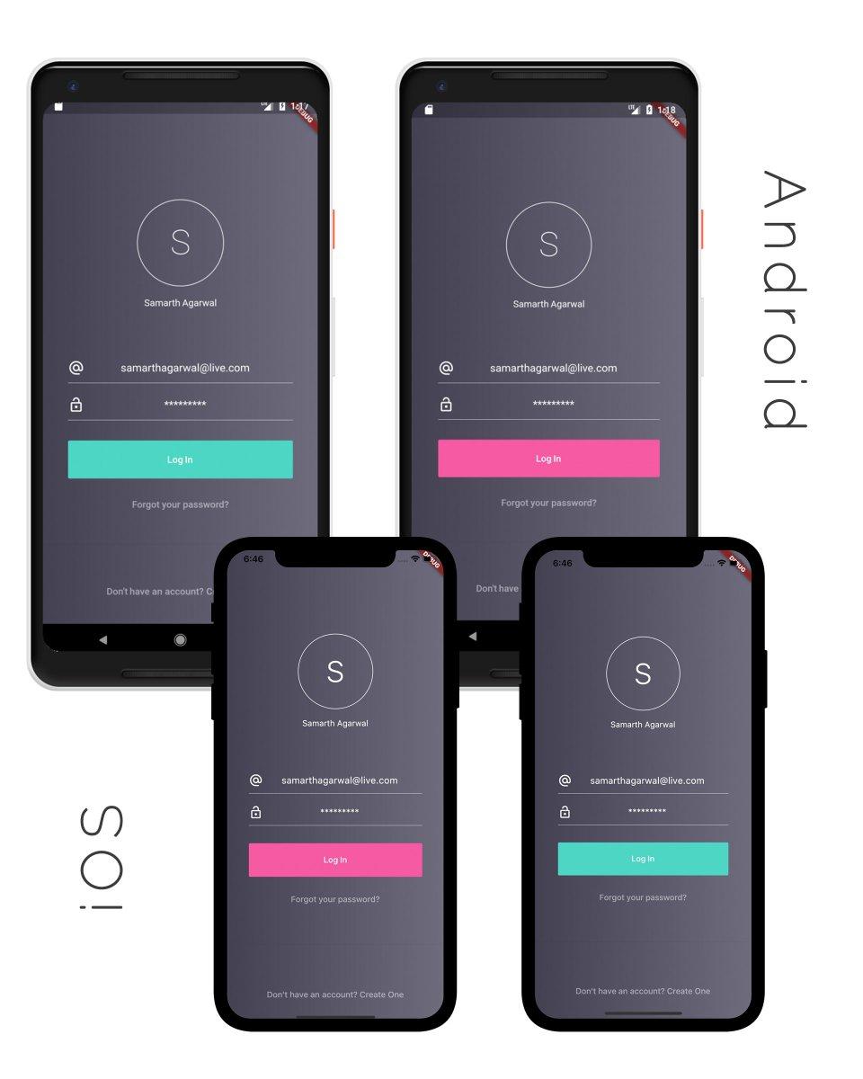 Android login screen github