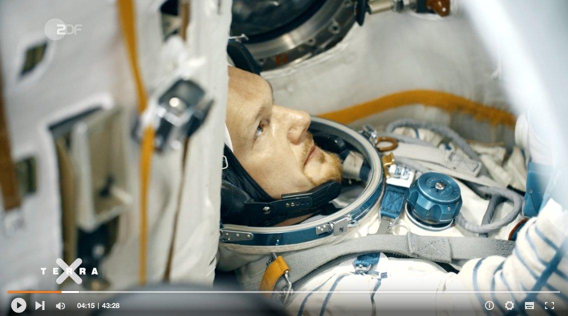 Wer den ersten Teil der @ZDF-Dokureihe 'Aufbruch ins All - mit @Astro_Alex' im Fernsehen verpasst hat, kann sie sich auch online ansehen. In der ZDF-#Mediathek. https://t.co/MKEfOHLSte