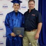 Image for the Tweet beginning: Congratulations 2014 @johnsonknights alumni Luis