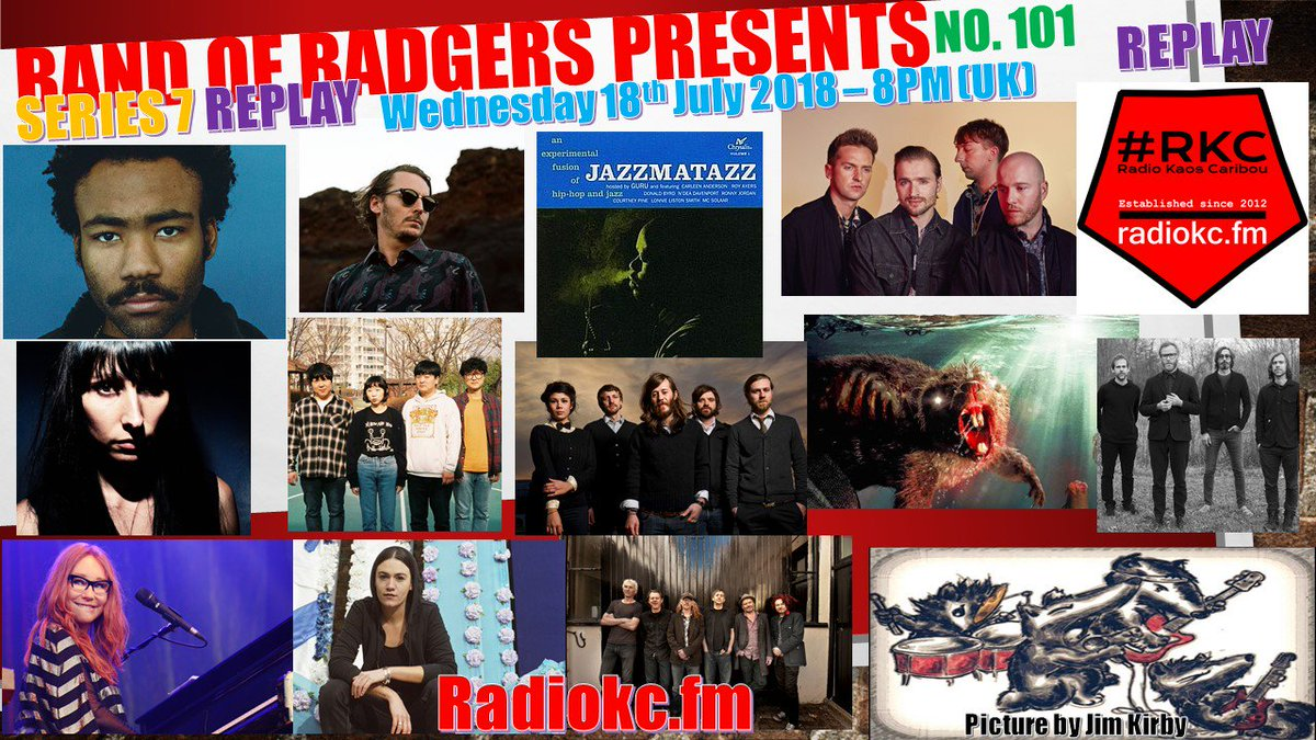 As there was some kind of (what was it now?) football on last Wednesday, if you missed the premiere of a brand NEW #BandofBadgers show @RadioKC then catch it this Wednesday 18th July 8PM (uk) radiokc.fm #MusicMonday #MusicHourUK #newmusic #radio #RKC #indie