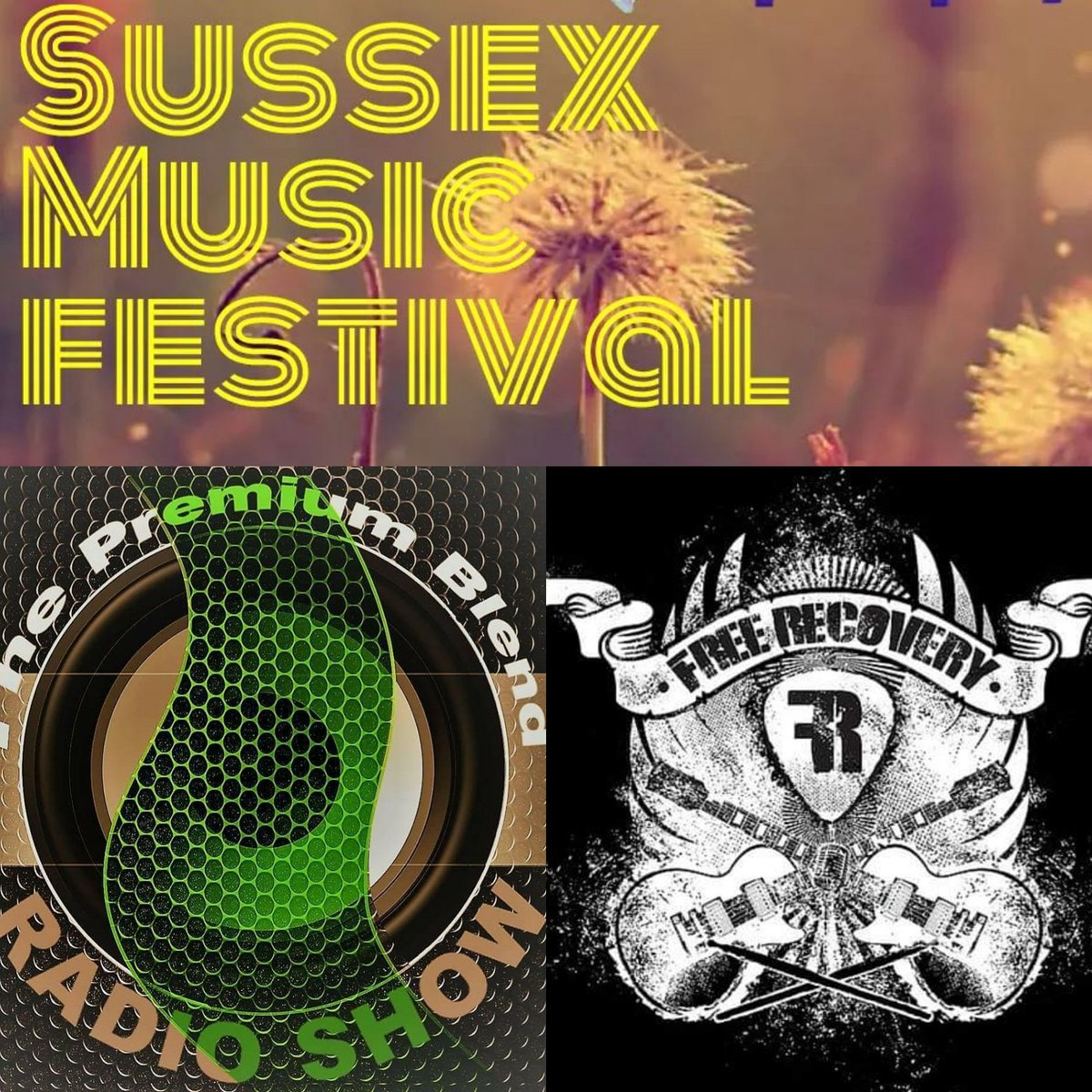 Tomorrow at 7pm (BST) on @hailshamfm its looking like another great show We have @SussexMusicFest in for a chat about this years festival along with @FreeRecovery for a #LiveSession. With tracks from the bands due at the festival + loads of #NewMusic #MusicHourUK #Unsigned