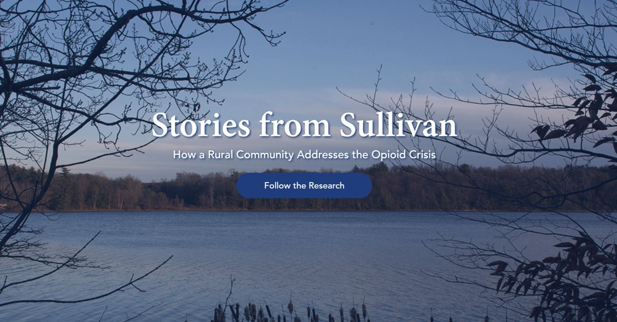 """Here's an important addition to your summer reading list. And your list for fall, winter, spring and next summer as well. It's 'Stories from Sullivan' from the Rockefeller Institute.""  @recordonline highlights our ongoing study of the #opioidcrisis: https://t.co/CV6jRDd4Ye"