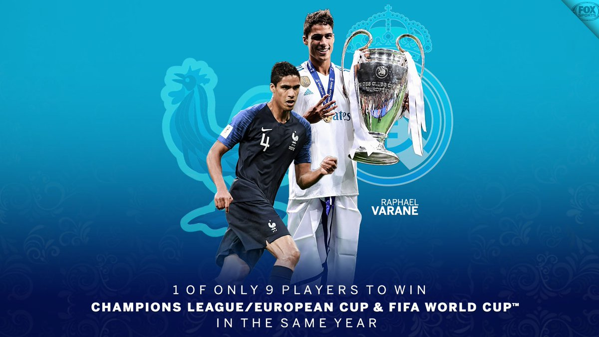 Not a bad year for Varane 🏆🏆
