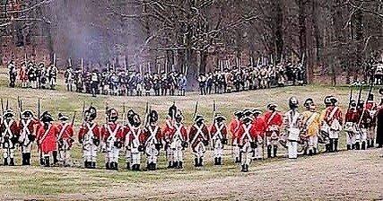 A great photo taken during battle road! #reenactment #revolutionarywar #patriots https://t.co/mB4lzrYuHF