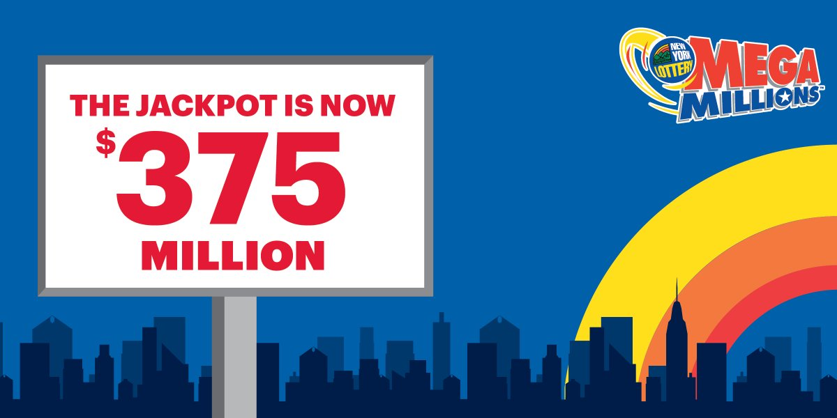 Now is the time to play #MegaMillions! With the #Jackpot at $375 million, you could win big for just $2<br>http://pic.twitter.com/VcaawCmtKw