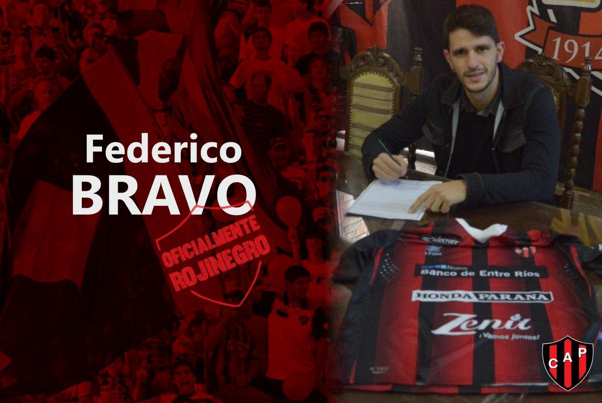 EX BOCA   @Fede_bravoo fue presentado como nuevo jugador de @ClubPatronatoOf. https://t.co/AdGEb2hPkS
