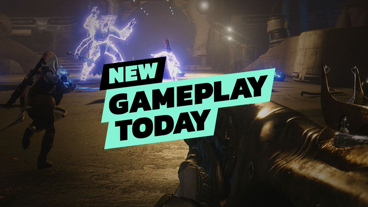 On the latest New Gameplay Today we play an exclusive early mission from Destiny 2: Forsaken's campaign, fending off the new faction The Scorn as the exciting new variation on the Warlock Stormcaller. https://t.co/nZoaHkaigp