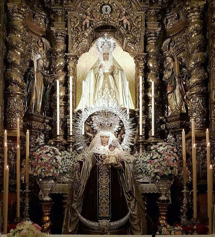 A las 20.30 h acompañaremos a los hermanos y devotos de Ntra. Sra. del Carmen del Puente de Triana, en la función que su Hermandad le dedica por su festividad, presidida por nuestro párroco y director espitiual D. Jose Antonio Jimenez.